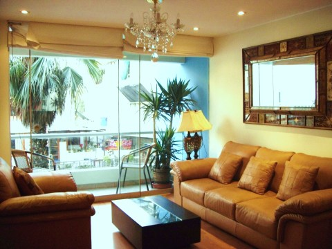 Nice furnished apartment in Miraflores - Vacation Rental in Lima