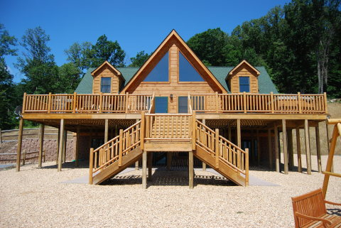1 Absolute Perfect Escape Log Cabin - Vacation Rental in Luray