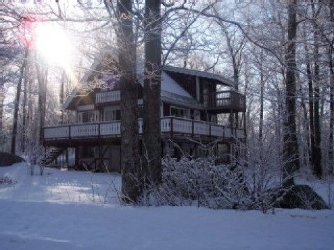 Chalet � Mountain Top w/ Views, Corner Lot  - Vacation Rental in Madison