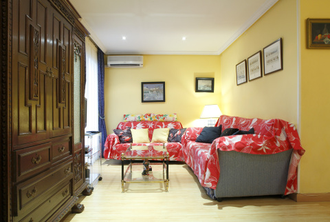 Extraordinary t flat in Madrid city centre - Vacation Rental in Madrid