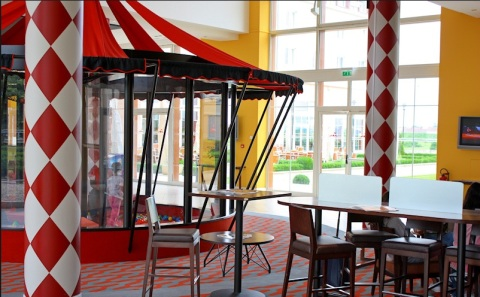 Accommodation at Magic Circus Hotel at Disneyland