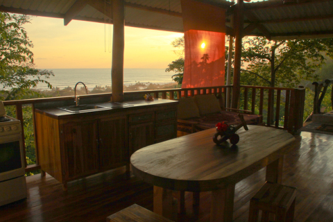 Vistanaranja Ocean View House - Vacation Rental in Mal Pais