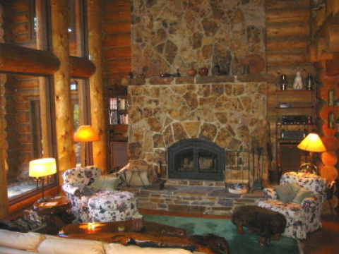 Elegant Log Manor Exclusive Mammoth Neighborhood - Vacation Rental in Mammoth Lakes