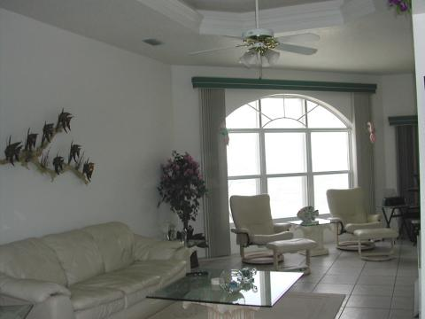 Living Area - Manasota Key Vacation Rental