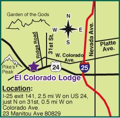 El Colorado Lodge, Manitou Springs, Colorado - Hotel in Manitou Springs
