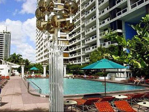 The Doubletree Grand Hotel on Biscayne Bay