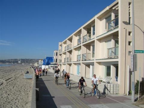 Ocean Front Vacation Rental Mission Beach - Vacation Rental in San Diego