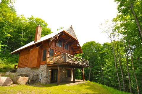Mont Tremblant Luxury Log Cabin Summer Specials - Vacation Rental in Mont Tremblant