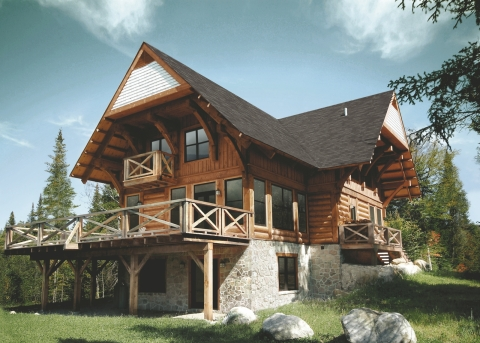 Cote Nord Tremblant - Authentic log homes - Vacation Rental in Mont Tremblant