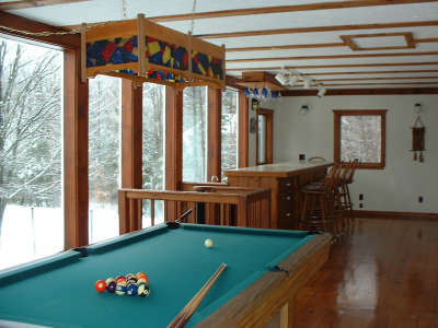 Tennis-Ski Chalet - Vacation Rental in Mt Snow