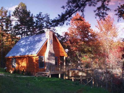 Scottish Woods Log Cabin - Vacation Rental in Murphy