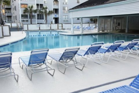 Pool Area - Myrtle Beach Vacation Rentals