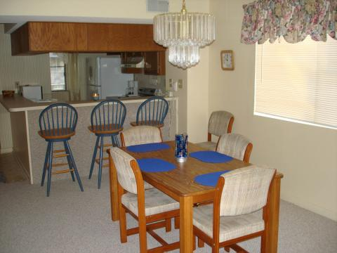 Dining Area and Kitchen - Myrtle Beach Vacation Homes