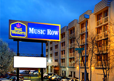 Best Western Music Row - Near Vanderbilt / Downtow