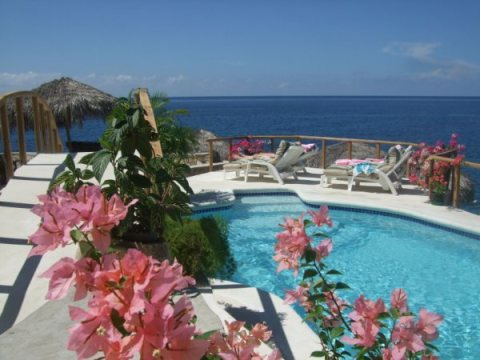 Catcha Falling Star Ocean Front Cottages - Vacation Rental in Negril