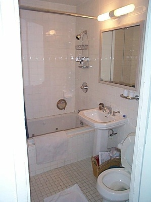 Newly renovated bathroom and whirlpool