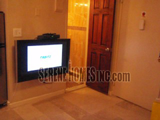 LCD TV in the Living area