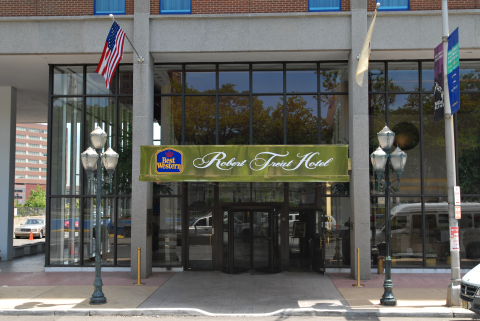 best western robert treat hotel. - Hotel in Newark