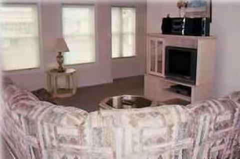 Living Area - Wildwood NJ Vacation Rental