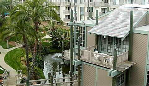Koi pond - Oceanside Vacation Condos