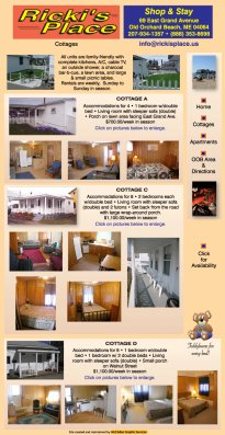Ricki's Place - Vacation Rental in Old Orchard Beach