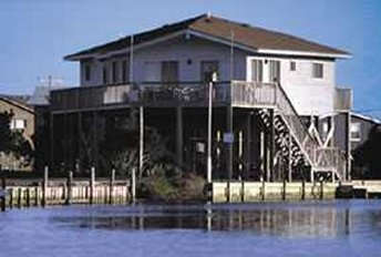 The Arrowhead, a Hatteras waterfront rental home - Vacation Rental in Outer Banks