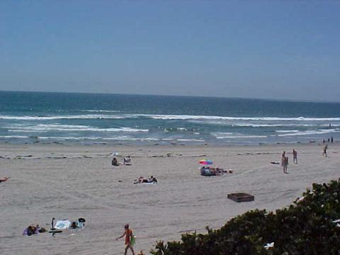Oceanfront Unit ;Panoramic Whitewater Views-Balcny - Vacation Rental in Pacific Beach