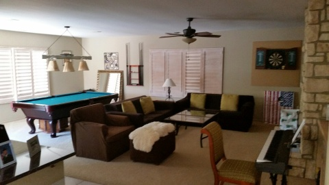Spacious 3915 sq ft 5 bedroom Pool Home in Private - Vacation Rental in Palm Desert
