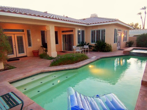 Palm Desert Private Gated Pool Home - Vacation Rental in Palm Desert