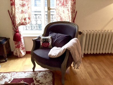 cozy chair for reading