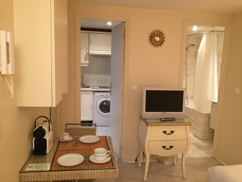 Elegant Studio Ap Saint Germain - Vacation Rental in Paris