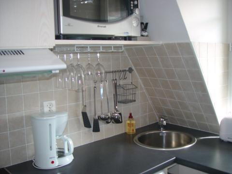 A separate fully equipped kitchen - Paris Vacation Apartments