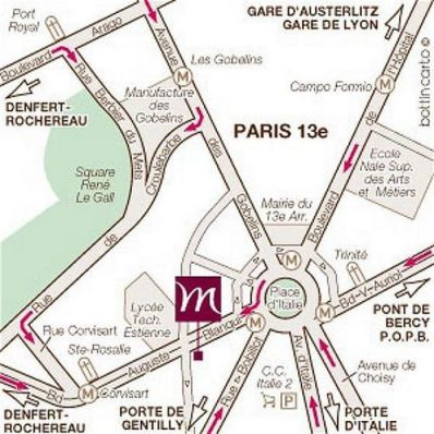 MERCURE PARIS PLACE ITALIE 3