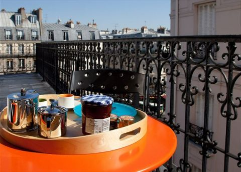 Left Bank Luxury Penthouse - Vacation Rental in Paris