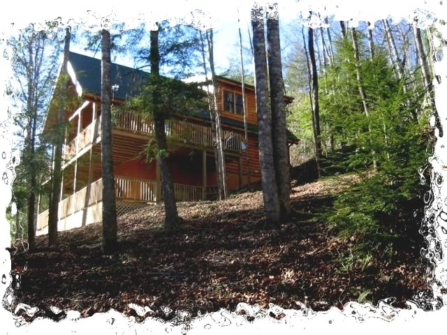 WEARS VALLEY LOG CABIN CROSS CREEK - Vacation Rental in Pigeon Forge