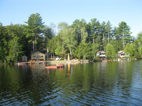 Long Lake Camps - Vacation Rental in Acadia Downeast