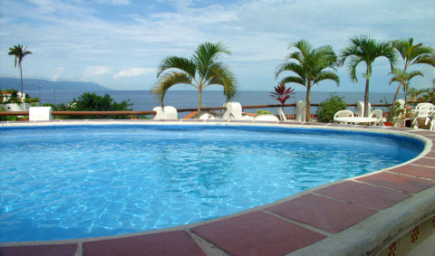 Beach Condo On Hillside Above Beach - Vacation Rental in Puerto Vallarta