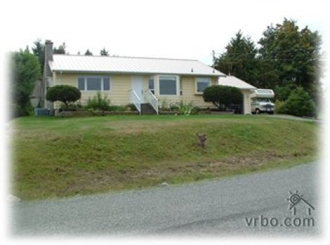 Qualicum Beach Ocean View Home - Vacation Rental in Qualicum Beach