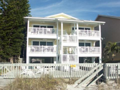 Balconies overlooking the beach - Reddington Vacation Condos