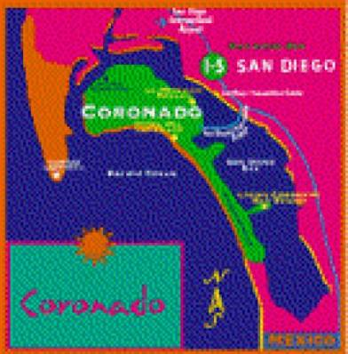 Map - Cherokee Lodge in San Diego, California
