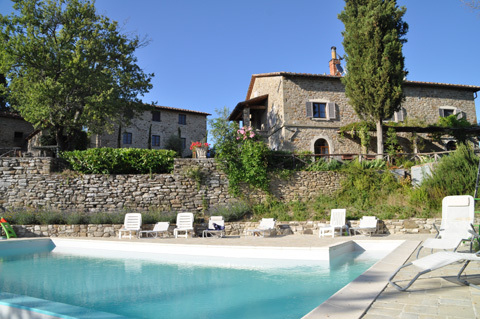 Calcina - Beautiful Tuscan Villa - Vacation Rental in Sansepolcro