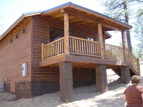 Bear Paw Cottage - Vacation Rental in Show Low