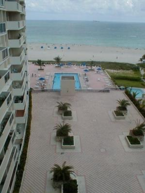 Ocean Front Studio For Rent in The Decoplage - Vacation Rental in South Beach