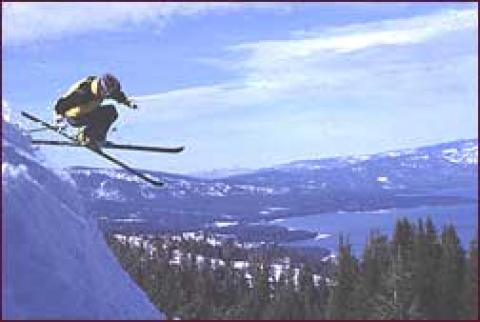 20 ski resorts surround Tahoe