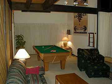 Two properties have a 4 X 8 pool table