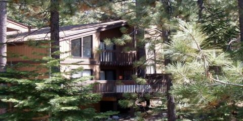 Our properties are nestled in the woods