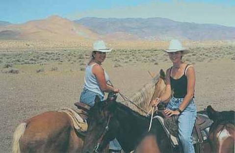 Horseback & trail riding is popular in all seasons