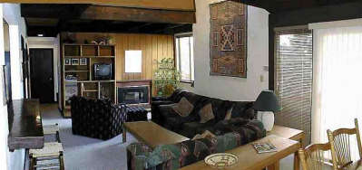 Southwest decor with cable TV & gas fireplaces