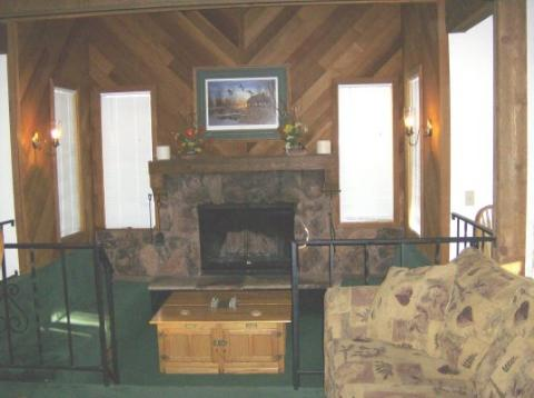 Game Area and Fireplace - South Lake Tahoe Vacation Rentals