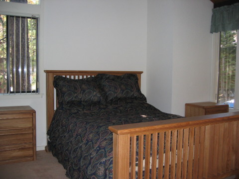 Bedroom #2 (queen - upstairs) - South Lake Tahoe Vacation Homes